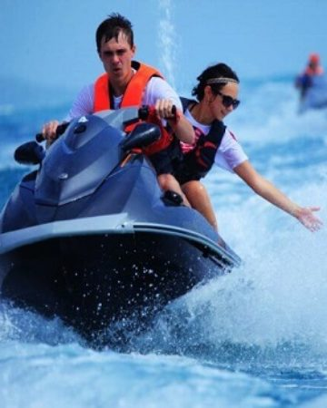 Jet Ski Watersport - feel the enjoyable riding Jet Ski in Bali