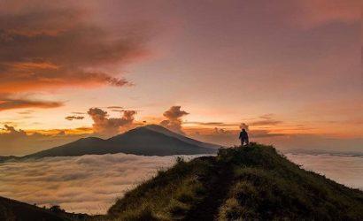 Fabulous view trekking Batur mountain 2