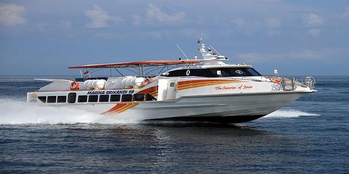 fast boat, marina srikandi, nusapenida, transfer, return, one way